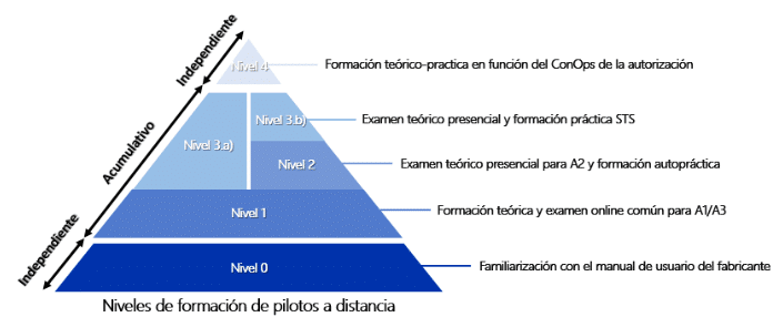 NIVELES FORMACION UAS 2021